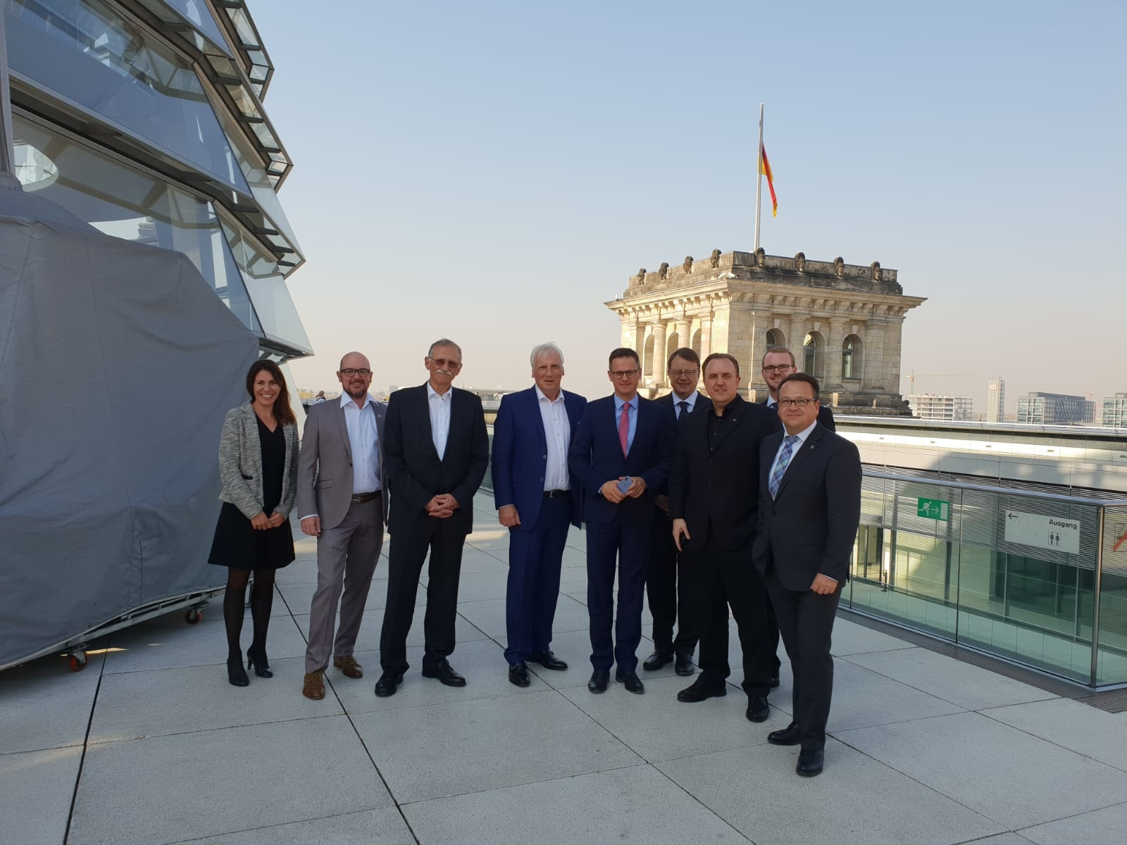 "Faber attends ""Future SME Support"" meeting / German Bundestag Berlin"